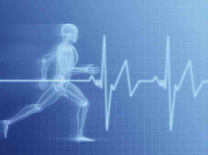 Blue Exercise run ECG4 1134 Banner